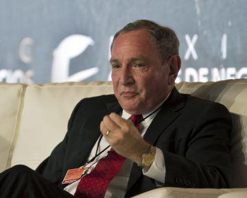 George Friedman, analista geopolítico y fundador de Stratfor.