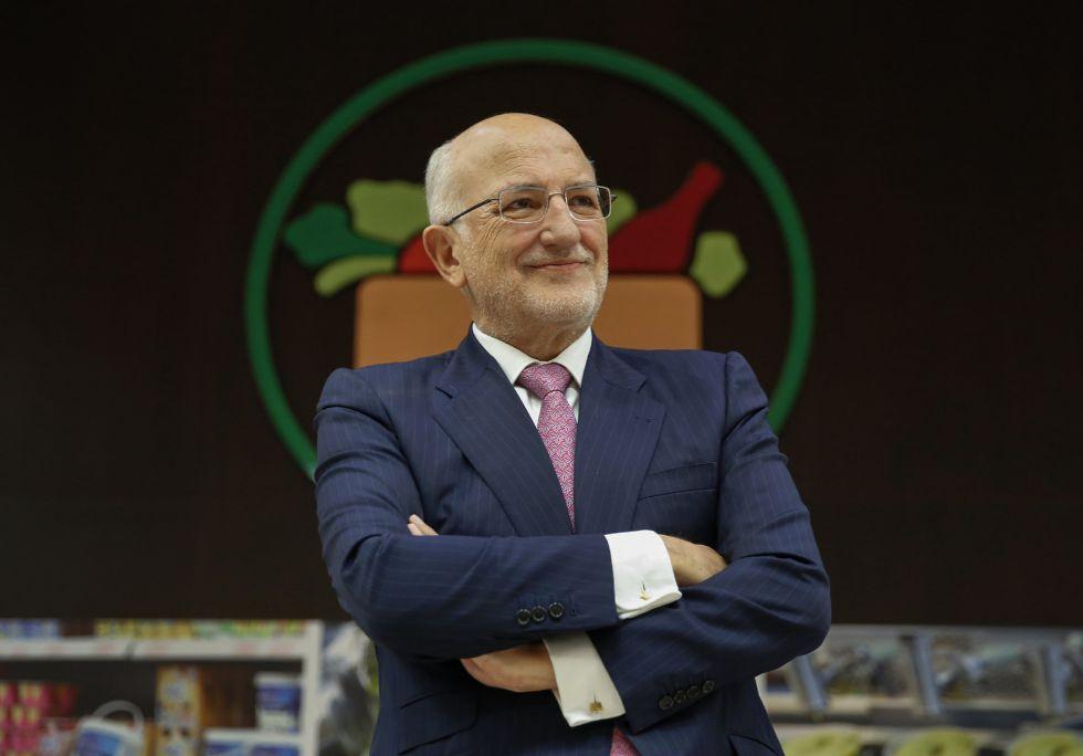 Juan Roig, presidente de la cadena de supermercados Mercadona