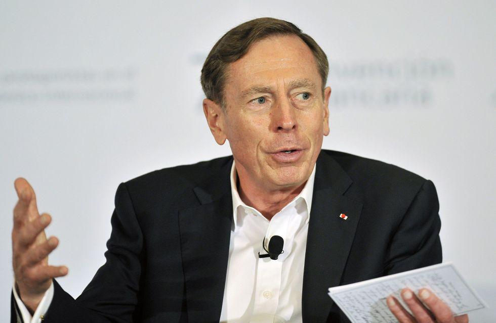 David Petraeus, durante la conferencia