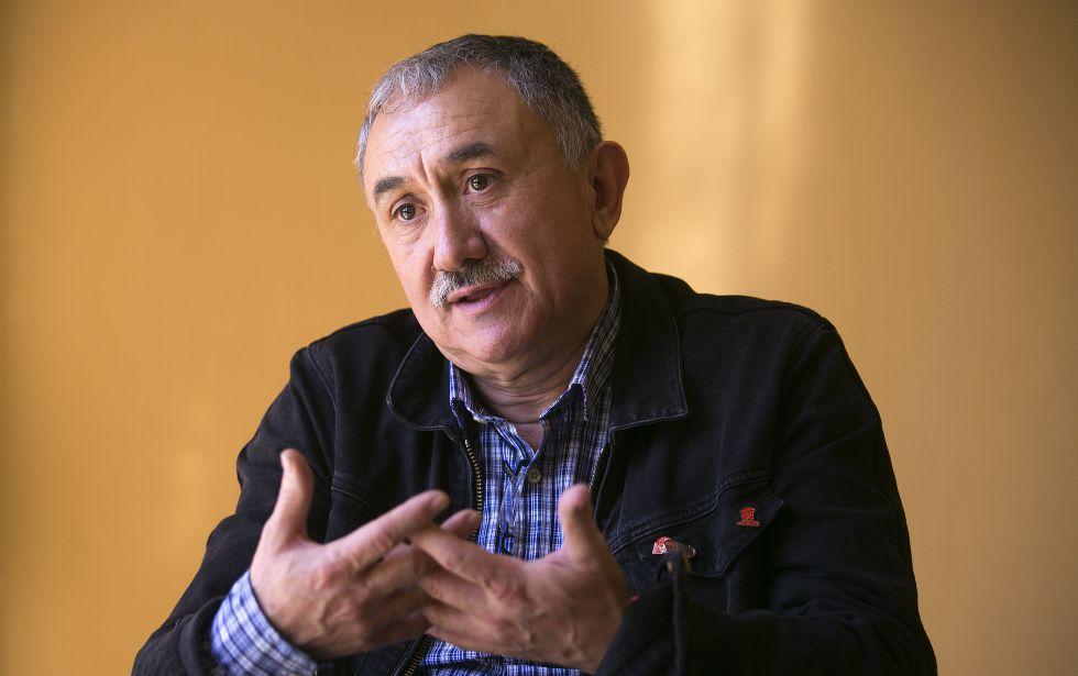 Josep María Álvarez, durante la entrevista.