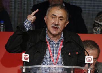 """Álvarez (UGT): """"Nos hemos sentido maltratados por el capital"""""""