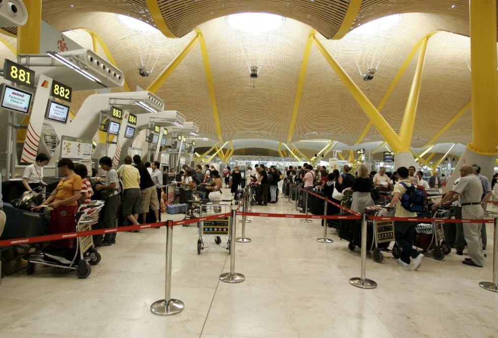 Vista de la T4 del aeropuerto de Madrid-Barajas Adolfo Suárez