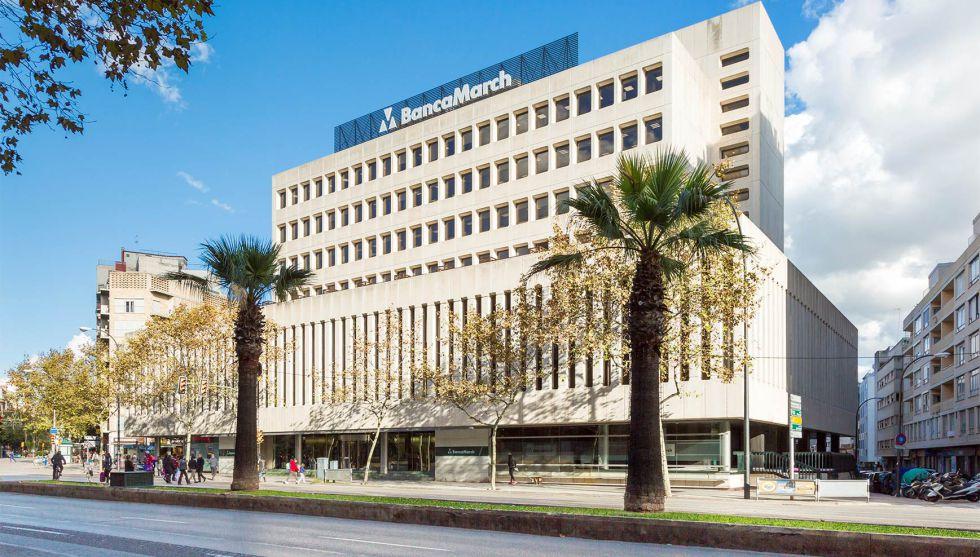 La sede de Banca March, en Palma de Mallorca