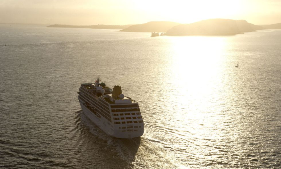 Un crucero en el Atlántico.