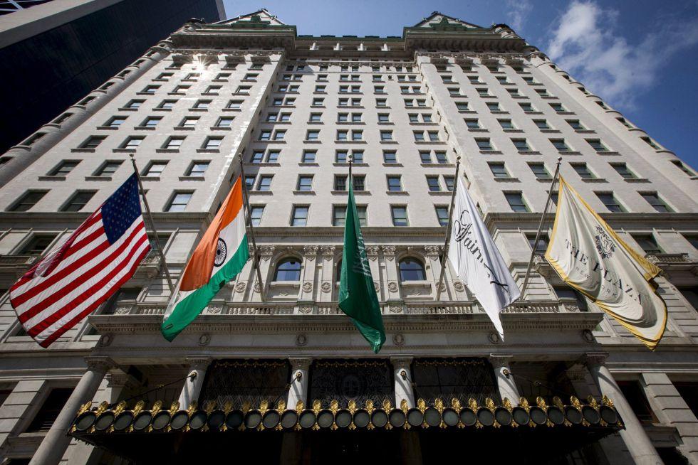 El Hotel Plaza en Manhattan (Nueva York)