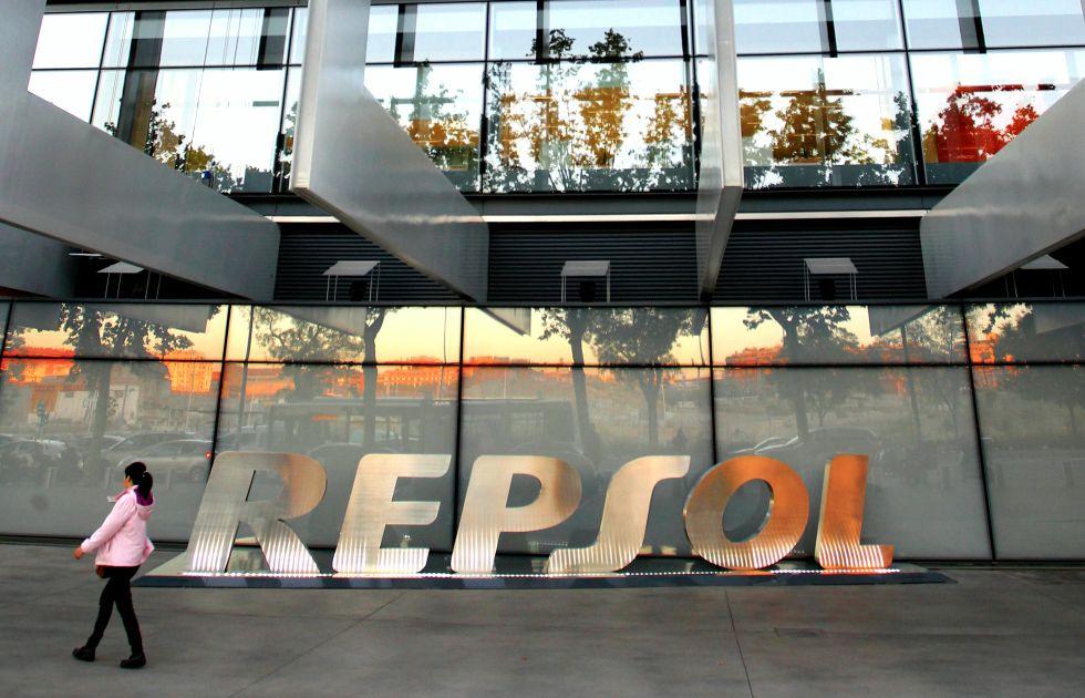 La sede de Repsol en Madrid