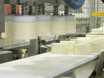 Planta de producción de quesos de García Baquero,