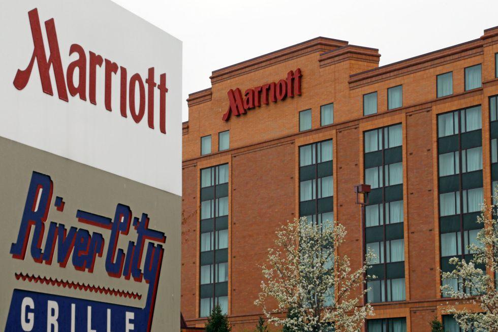 Un hotel operador por la cadena Marriott