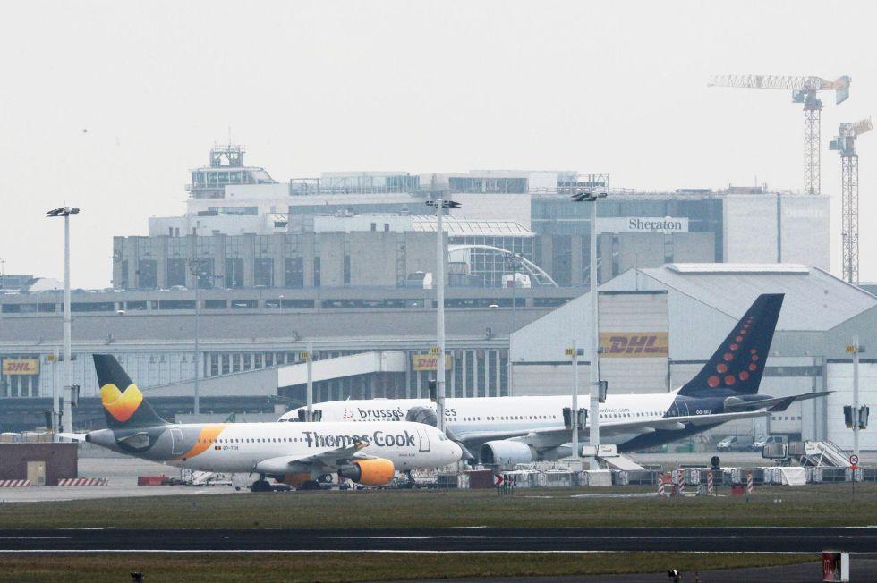 El aeropuerto de Zaventem, en Bruselas, cerrado por las explosiones