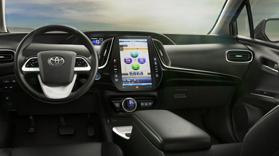 Interior del Prius Prime de Toyota