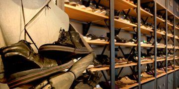 Una tienda de calzado de Tempe, del grupo Inditex