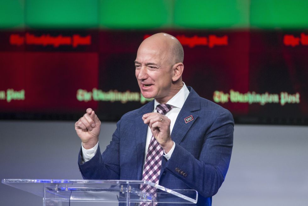 Jeff Bezos, presidente y fundador de Amazon