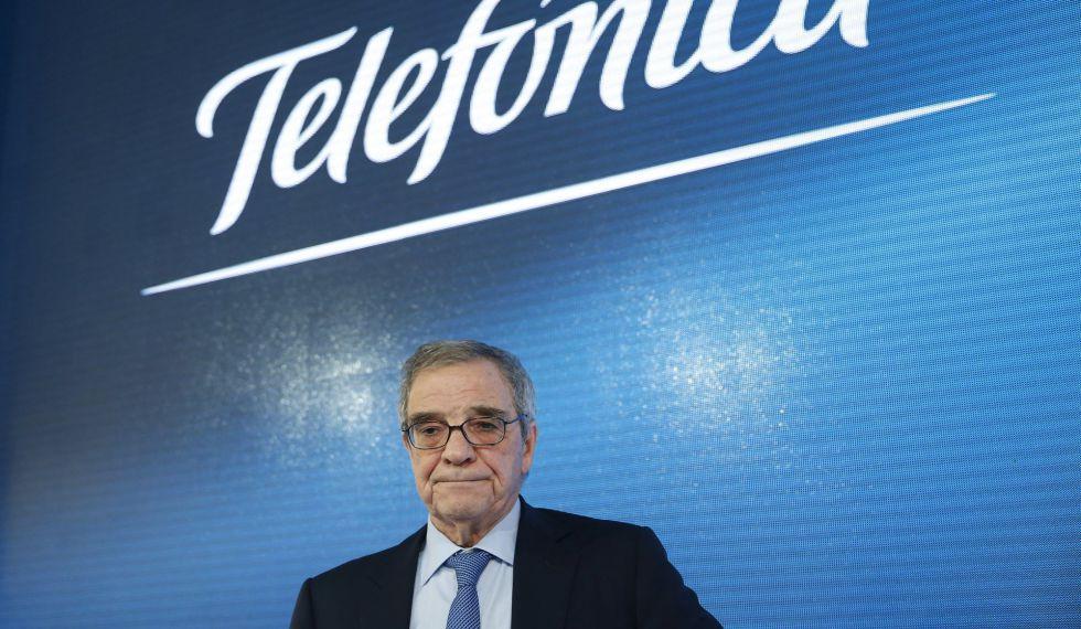El expresidente ejecutivo de Telefónica, Cesar Alierta.