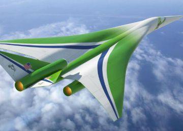 La NASA se apunta a la carrera para los aviones supersónicos