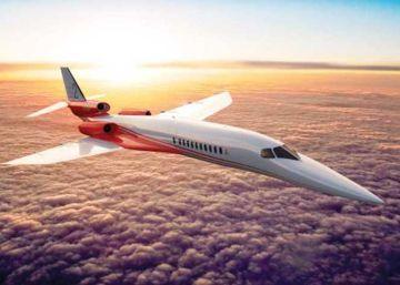 Este es el avión supersónico que quiere sustituir al Concorde