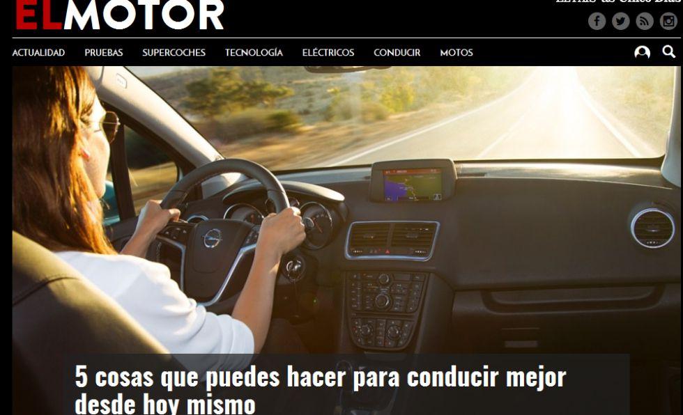 Nace ElMotor.com, el site de EL PAÍS dedicado al automóvil