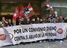 El aumento de los sueldos pactados en convenio se frena en marzo