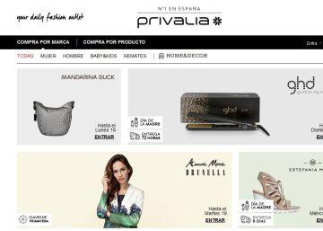 La tienda 'online' francesa Vente-Privee compra a la española Privalia