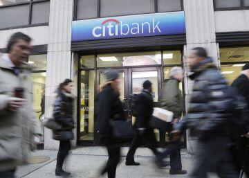 Citigroup reduce un 30% el beneficio trimestral