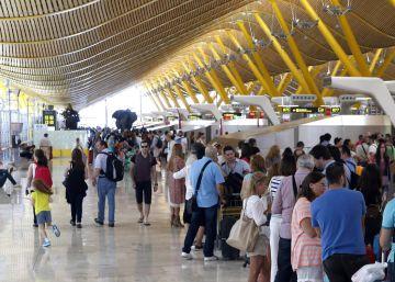 La red de aeropuertos de Aena gana en tres meses 29 millones, el 140% más