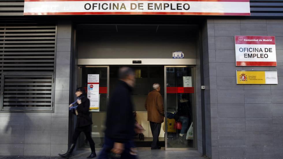 Una oficina de empleo de la Comunidad de Madrid