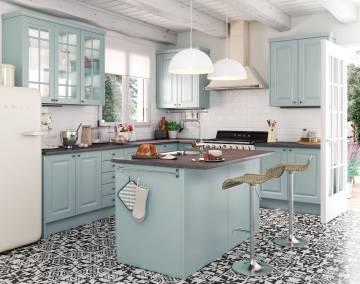 Las islas triunfan en las cocinas econom a el pa s - Islas de cocina moviles ...