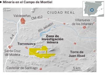 El Campo de Montiel contra las tierras raras