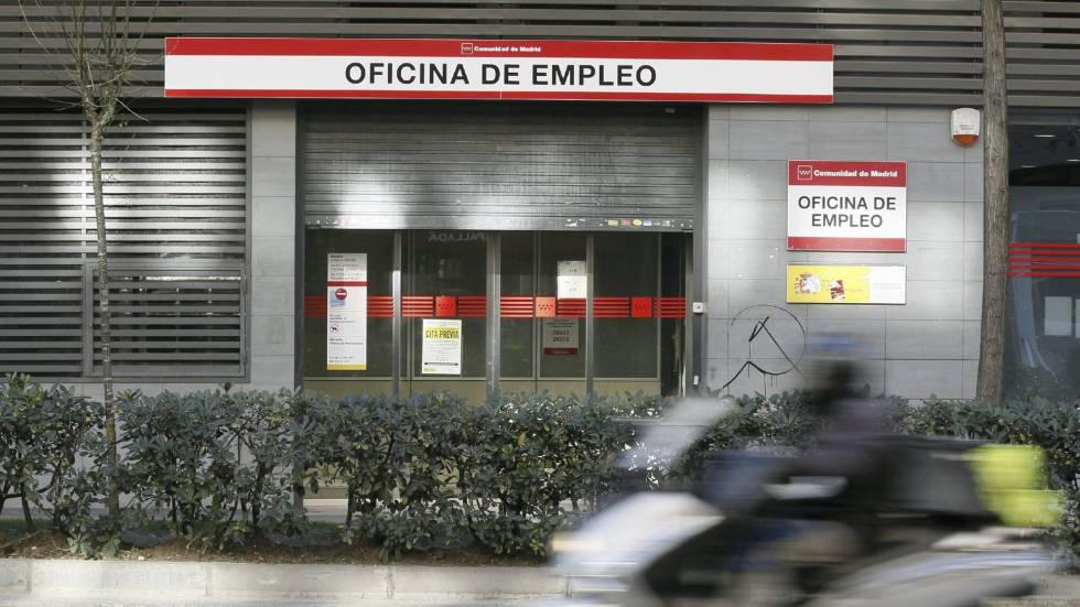Una oficina de empleo en Madrid.