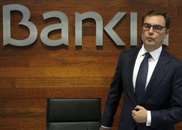El resultado de Bankia baja un 3,3% por la caída de ingresos