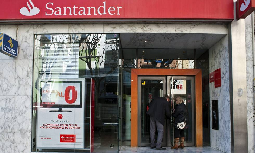 Banco santander pacta reducir su plantilla en for Oficina ola santander