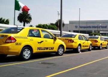 Los taxis del Aeropuerto de la Ciudad de México, acusados de monopolio