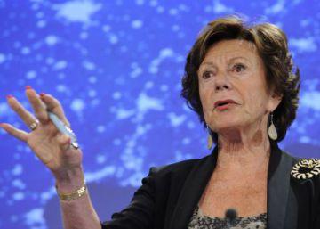Uber ficha como asesora a la excomisaria europea Neelie Kroes