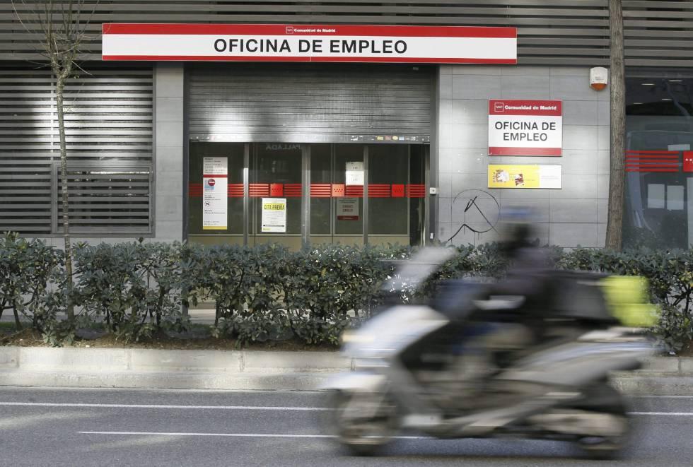 Una oficina de empleo en Madrid