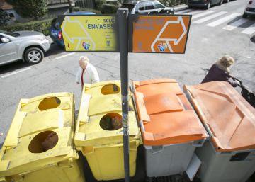 España recicla el 74,8% de lo depositado en los contenedores amarillos y azules