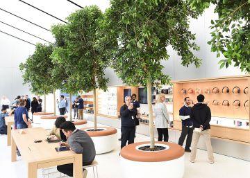 Apple estrena la tienda que inspirará el rediseño de su cadena