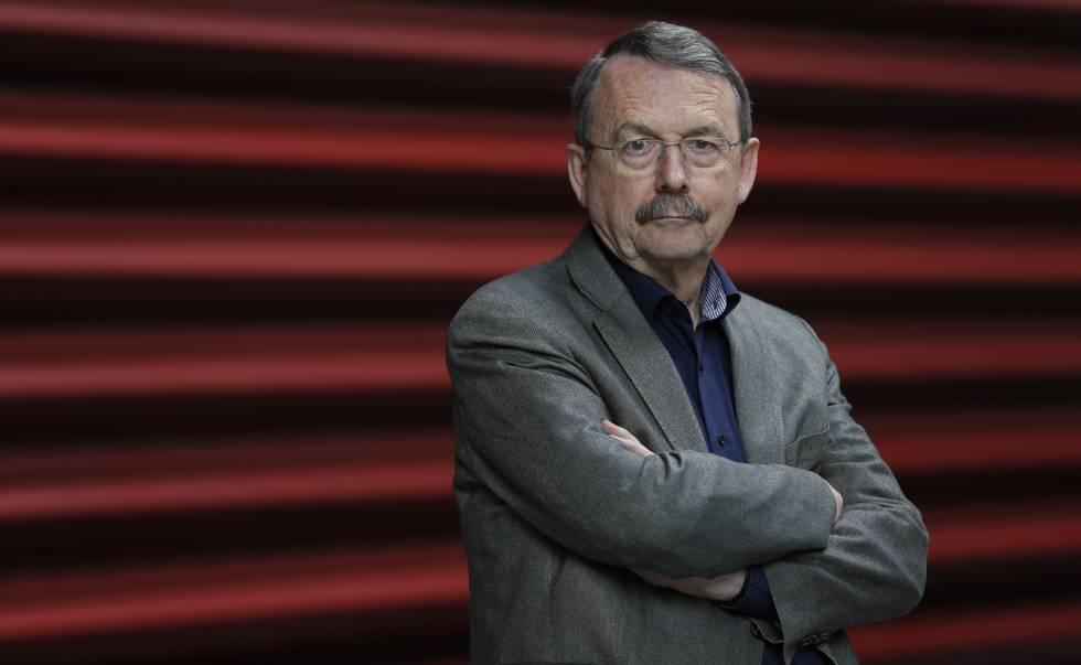 El sociólogo alemán Wolfgang Speeck en le Museo Reina Sofía de Madrid.