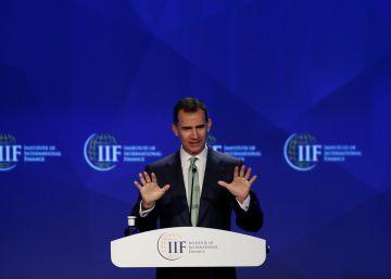 Felipe VI pide más transparencia a los bancos