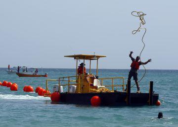 El cable submarino Marea: a prueba de tormentas, pescadores y tiburones