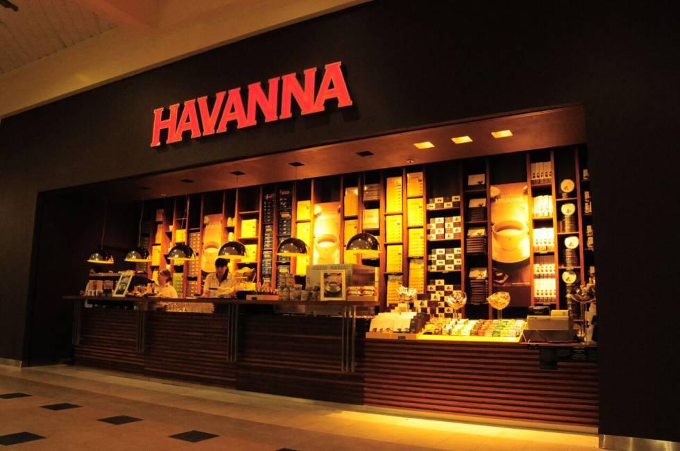 Un cafetería de Havanna en Buenos Aires.
