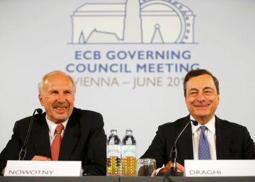 """Draghi pide paciencia y reitera que el BCE está """"listo para actuar"""""""