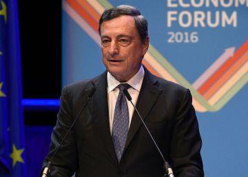 Draghi, contra la incertidumbre institucional en la UE