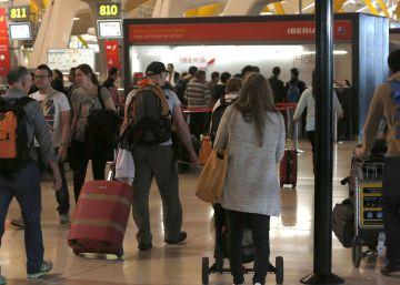 Los aeropuertos españoles registran récord de pasajeros hasta mayo