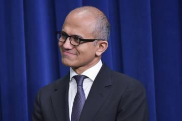El consejero delegado de Microsoft, Satya Nadella