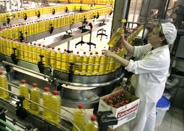 La exportación salva a la industria alimentaria