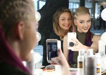 Ni un 'selfie' sin maquillaje