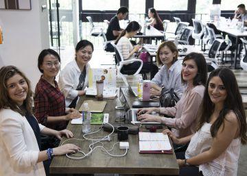 Emprendedores chinos 'made in Spain' formados en aulas de Mondragón