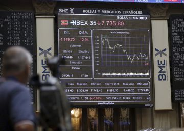 La Bolsa pierde los avances de la apertura y se decide por las pérdidas