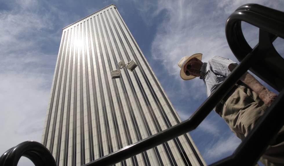 Torre Picasso, sede de la filial española del grupo tecnológico Google.