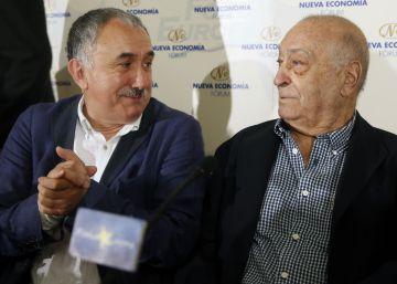 "Álvarez (UGT): ""La sociedad se radicaliza por la falta de reparto de la riqueza"""