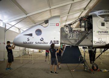 La estela del 'Solar Impulse 2'
